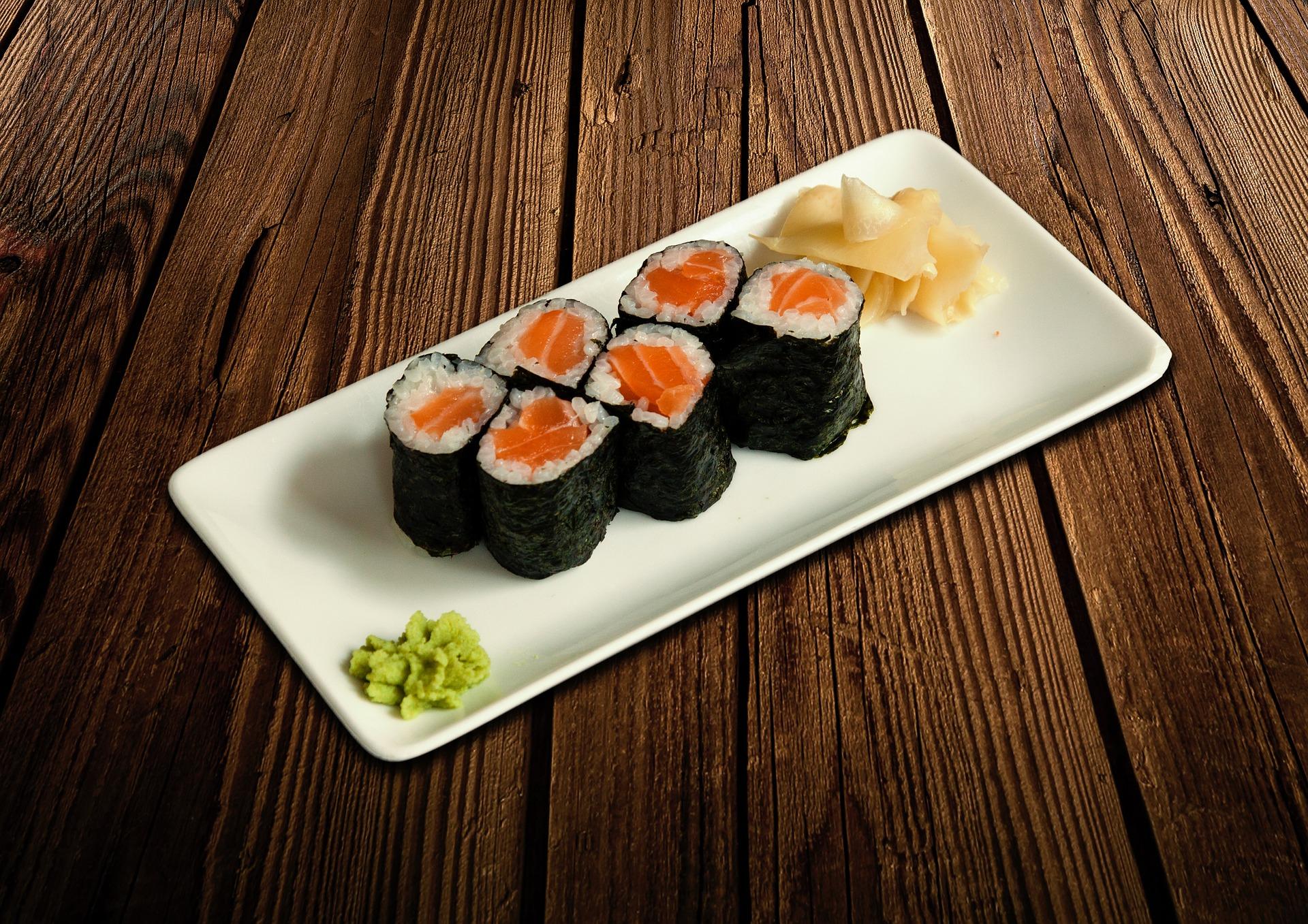 mangiare sushi con diarrea